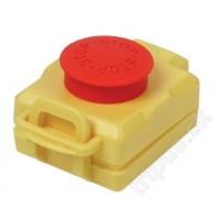 Stop-Tlačítko bez aretace na kompletní vypínače Tripus